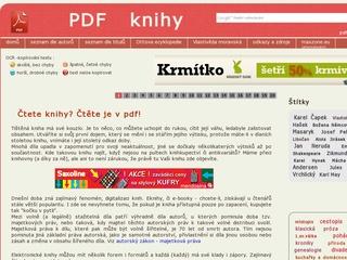 PDF knihy zdarma ke stažení a bez registrace